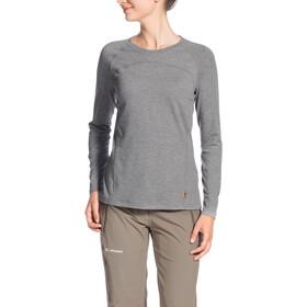 VAUDE Signpost II Longsleeve Shirt Dames, grey-melange